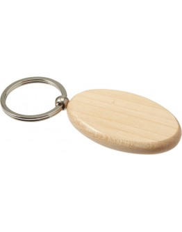 Llavero madera oval Koral