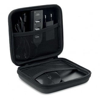 Set accesorios ordenador con Powerbank Quel