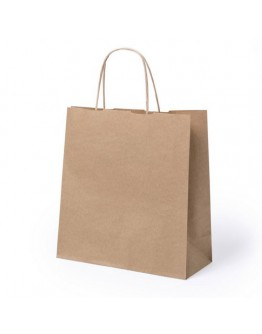 Bolsa de papel personalizadas 22x23 cm