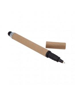 Bolígrafos Stylus Cartón Reciclado Phone / Punteros Personalizados