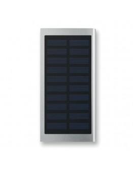 Baterías Externas 8000 mAh con carga solar Flat