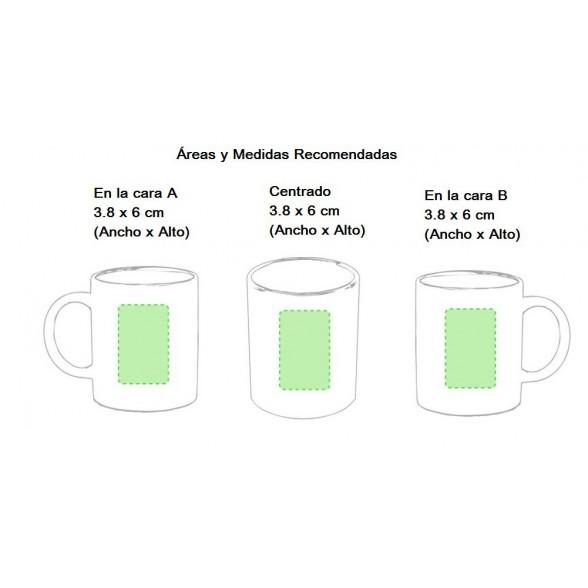 Taza Cerámica Zifor / Tazas Personalizadas Baratas