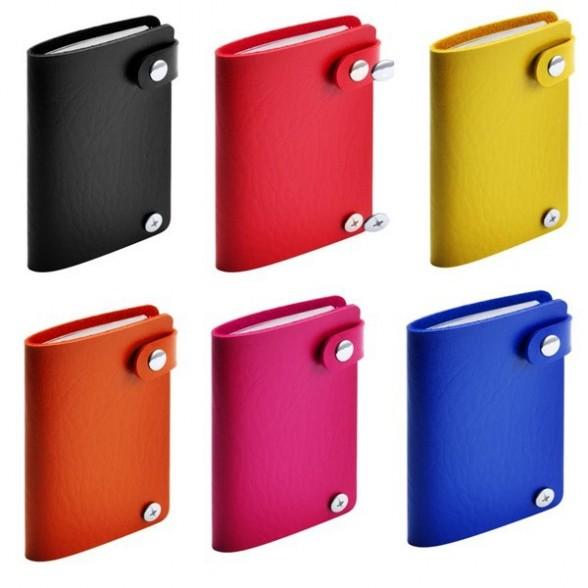 Tarjetero 10 Compartimentos polipiel / Tarjeteros Personalizados Baratos
