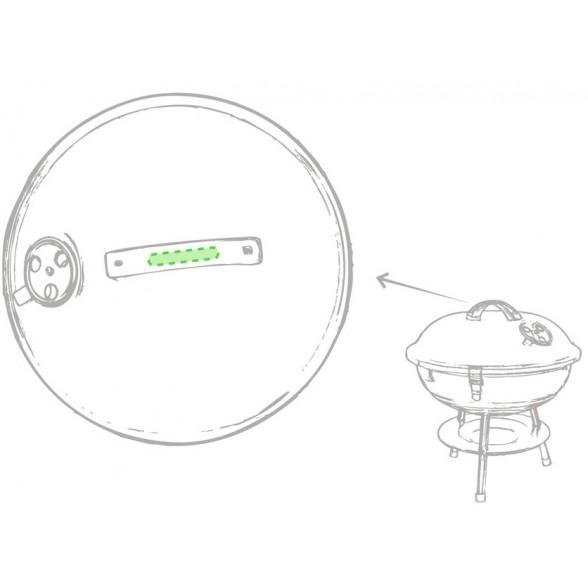 Barbacoa Metálica para publicidad / Regalos de Empresa