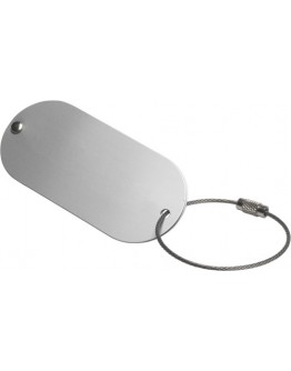 Identificador equipaje de aluminio Marval