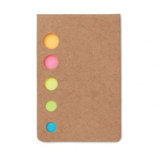 Notas Adhesivas Tapas Cartón Reciclado / Notas Adhesivas Personalizadas