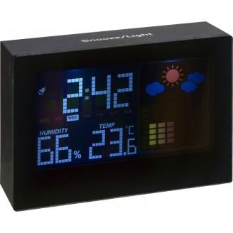 Estación meteorológica con reloj Boe