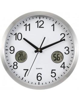 Reloj de Pared Termómetro e Higrómetro / Relojes Publicitarios de Pared