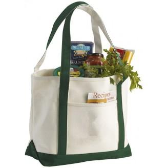 Bolsa de algodón para personalizar, 50x33x18 cm