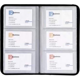 Tarjeteros de Piel Regenerada 72 Tarjetas / Tarjeteros Publicitarios