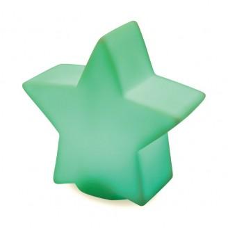 Estrella decorativa con luz para regalo Navidad