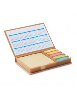 Calendario publicitario sobremesa con notas adhesivas / Calendarios