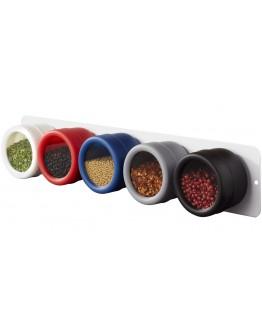 Especiero para 5 Especies Magnético / Articulos de Cocina Promocional