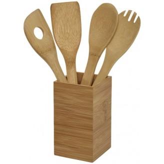 Set de Cocina 4 Piezas de Bambú / Articulos de Cocina Promocionales