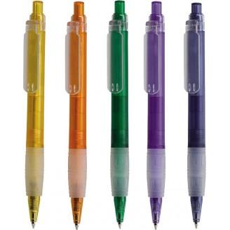 Bolígrafo publicitario plástico  HALLO Grip Happy