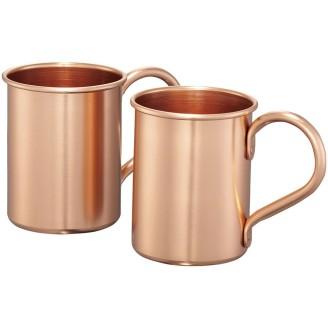 Set tazas aluminio 415 ml