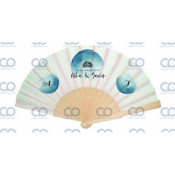 Abanicos Personalizados para Bodas / Abanicos Madera Baratos