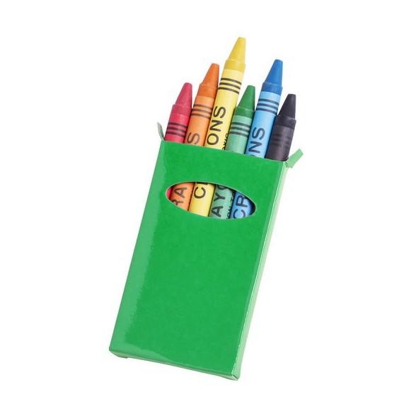 Caja Ceras Tune 6 Ceras / Cajas de Colores personalizadas