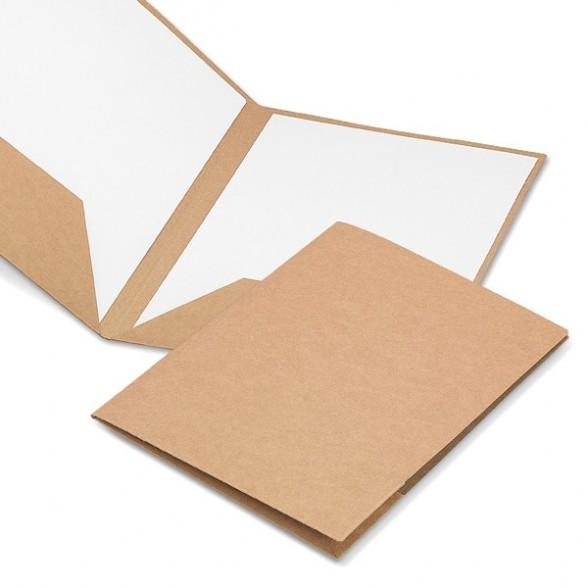 Carpetas publicitarias de cartón A4 Congreso / Carpetas Personalizadas