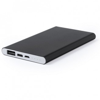 Power Bank aluminio 4000 mAh Match / Power Bank Personalizados Baratos