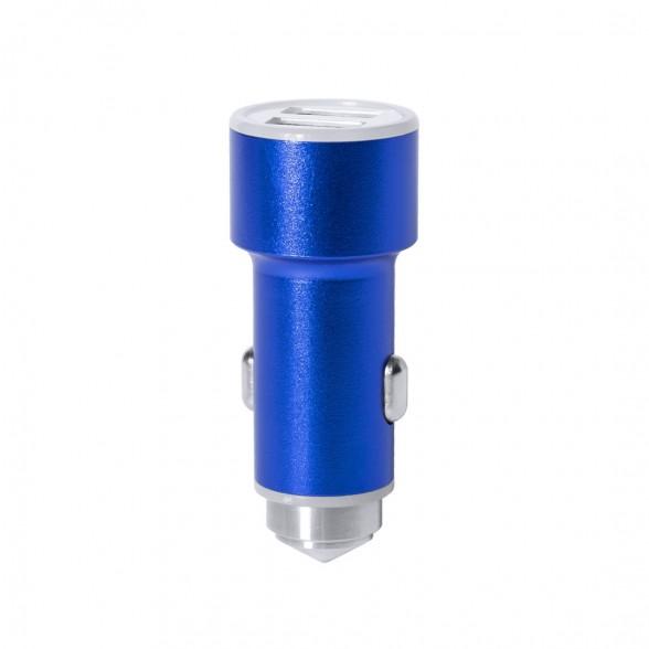 Cargador USB Coche 2100 mAh Aluminio / Cargadores USB Coche