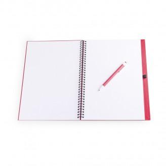 Libreta Cartón Reciclado 21x29x2 cm / Cuadernos Personalizadas Baratas