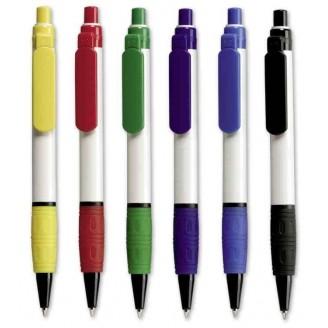 Bolígrafo publicitario plástico HALLO Grip Color
