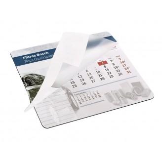 Alfombrilla de ratón personalizadas con calendario personalizable