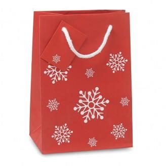 Bolsa compra regalo Navidad pequeña
