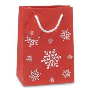 Bolsa compra regalo Navidad mediana