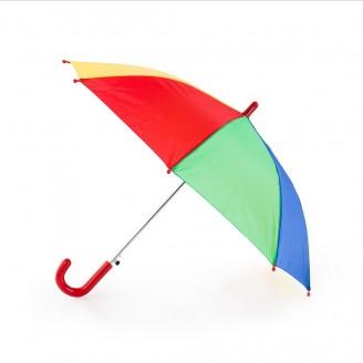 Paraguas automático multicolor para niños