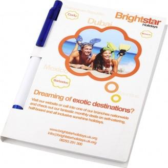 Cuadernos personalizados con bolígrafo / Cuadernos Notas Promocionales