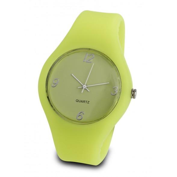 Reloj pulsera publicitario de silicona