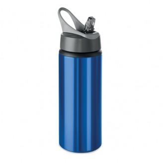 Botellas Agua Aluminio 600 ml con Pajita Alf / Bidones Personalizados