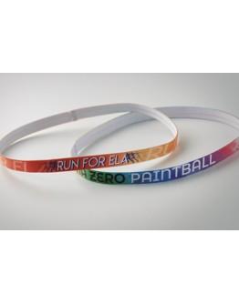 Cinta Fina para la Cabeza Personalizada Todo Color / Headband Personalizados