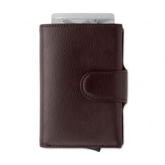 Cartera billetero PU con tarjetero RFID / Cartera RFID Personalizada