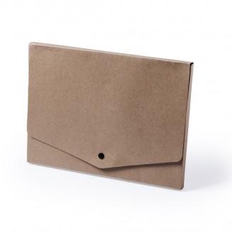 Portadocumentos de cartón reciclado Dan