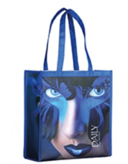 Bolsas compra PET reciclado 42x32x16 / Bolsas Compra Personalizadas