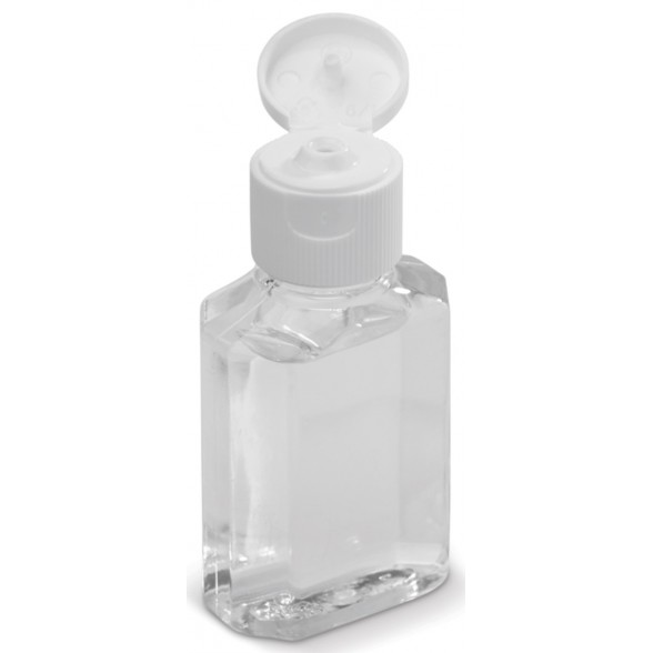 Recipiente con gel limpiador / Gel Limpiador de Manos Promocionales