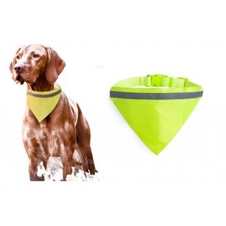 Collar bandana reflectante para perros