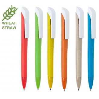 Bolígrafos Ecologicos Caña de Trigo Nature / Bolígrafos Personalizados