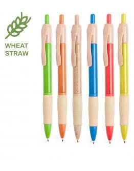 Bolígrafo de caña de trigo Eco / Bolígrafos Ecologicos Personalizados