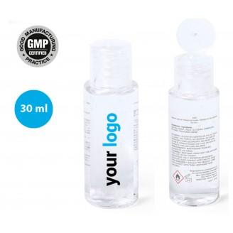 Gel hidroalcohólico 30 ml personalizado