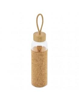 Botellas de Cristal con Funda Corcho / Botellas de Agua Personalizadas