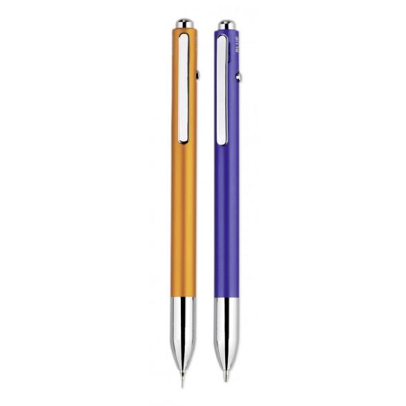 Bolígrafo publicitario de aluminio color 3 en 1