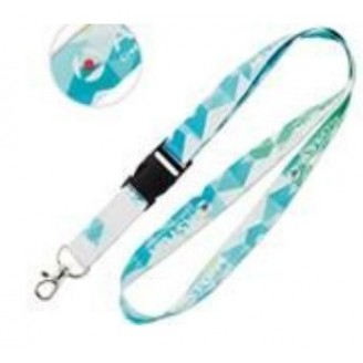 Lanyards personalizados sublimacion 20 mm. Impresion incluida