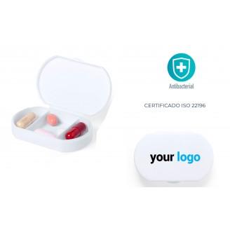 Pastilleros Antibacterianos Personalizados Baratos. Pastilleros ISO22196