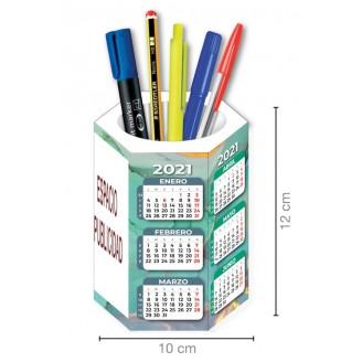 Cubilete Calendario sobremesa impreso cuatricromia / Calendarios Baratos