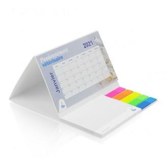 Calendarios publicitarios sobremesa base blanda / Calendarios Personalizados