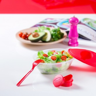 Fiambreras Ensalada Baratas / Fiambreras para Desayuno Personalizadas